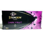 Strongbow Dark Fruit Orginal Cider 10 Dosen a 440ml mit 4% Vol Alc